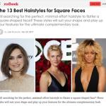 Les 13 meilleures coupes pour un visage carré