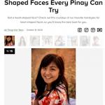 15 coiffures adaptées à des visages asiatiques en forme de coeur
