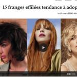 15 franges effilées tendance
