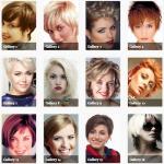 180 photos de coupes pour cheveux courts
