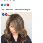 20 coiffures avec des cheveux longs pour visages ronds