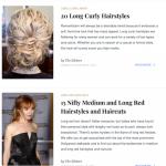 Plus de 25 galeries de photos de coiffures (cheveux longs)