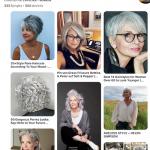 Plus de 300 photos de coiffures poivre et sel