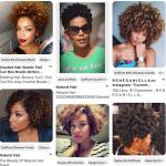 Coupe courte femme afro, plus de 300 photos