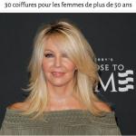30 coiffures pour les femmes de plus de 50 ans