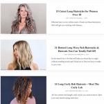 Une trentaine de galeries pour coiffer des cheveux longs