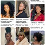 Près de 3500 photos de coupes afro cheveux longs
