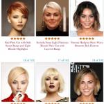 350 idées de coupes courtes pour une femme au visage ovale