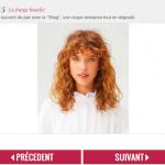 45 inspirations de coiffures populaires avec une frange