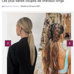 460 coiffures tendance cheveux longs