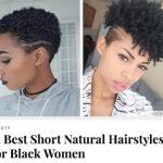 50 photos de coiffures pour cheveux crépus courts