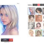 Galerie de 60 coiffures mi-longues avec une frange