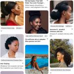 Bel album Pinterest de plus de 650 photos de coupes afro femme