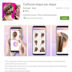 Applis coiffure Android