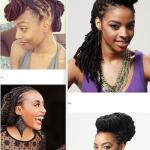100 styles de coiffures féminines avec des dreadlocks