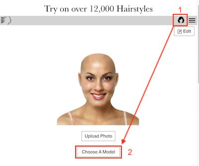 Logiciel De Coiffure Virtuelle Gratuit Avec Ma Photo | Coiffure Hair