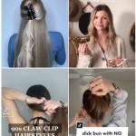 Accessoires décoratifs pour cheveux sur TikTok avec #clawclip