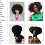 Coupes afro photos