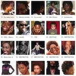 Idées de coiffures afro