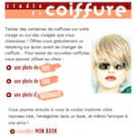 Changer de coiffure en ligne