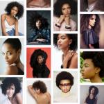 Coiffures afro tendance