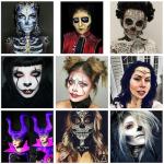 40 coiffures adaptées aux maquillages d'Halloween