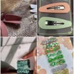 Accessoires décoratifs pour cheveux sur TikTok avec #diyhairclips
