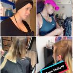 Vidéos TikTok avec #hairstylistsoftiktok