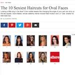 Idées de coiffures pour visage ovale