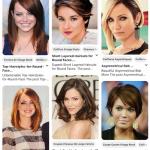 180 idées de coupes pour un visage rond (Pinterest)