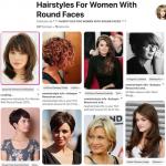 Plus de 300 styles de coiffures pour les femmes au visage rond