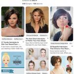 Plus de 500 photos de coiffures à porter avec un visage rond