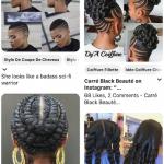 Plus de 700 photos de coupes afro femme
