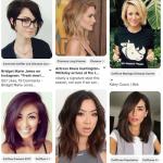 60+ idées de coiffures pour visage long (Pinterest)