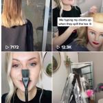 Salons de coiffure sur TikTok